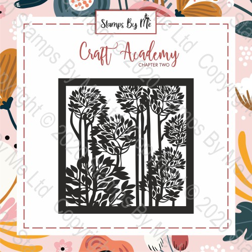 CRAFT ACADEMY CHAPTER TWO - STENCIL - FOREST