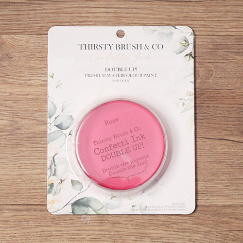 TV - THIRSTY BRUSH & CO. - CONFETTI INK - DOUBLE UP! - ROSE - 091120n - SHOW