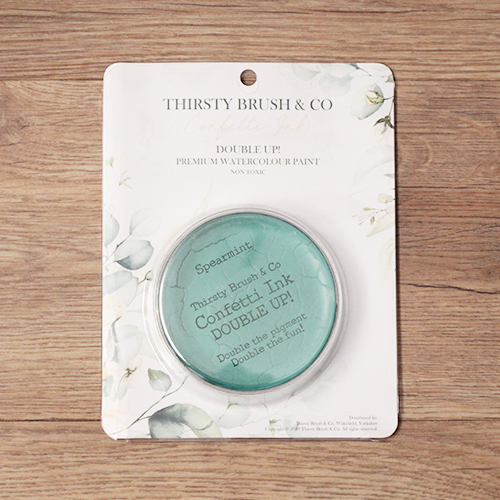 TV - THIRSTY BRUSH & CO. - CONFETTI INK - DOUBLE UP! - SPEARMINT - 091120p - SHOW