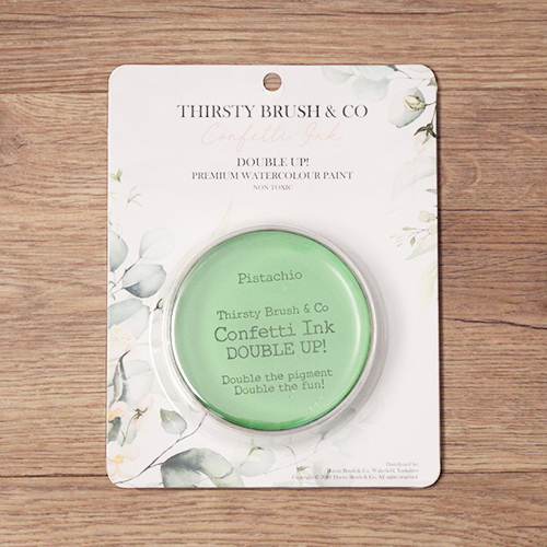 TV - THIRSTY BRUSH & CO. - CONFETTI INK - DOUBLE UP! - PISTACHIO - 091120q - SHOW