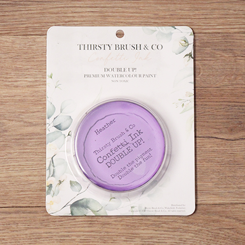 TV - THIRSTY BRUSH & CO. - CONFETTI INK - DOUBLE UP! - HEATHER - 091120r - SHOW