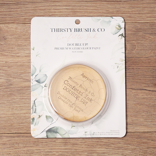 TV - THIRSTY BRUSH & CO. - CONFETTI INK - DOUBLE UP! - APRICOT - 091120s - SHOW
