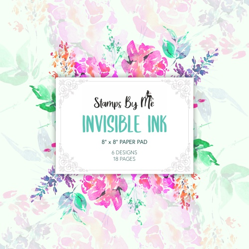 587372 - TV - 8 X 8 PAPER PAD - INVISIBLE INK - 061120b - SHOW