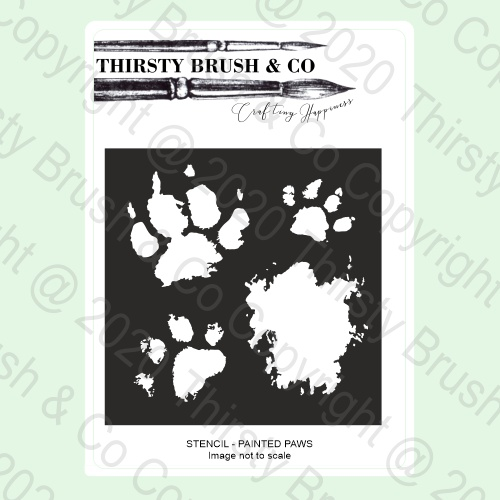 586557 - TV - THIRSTY BRUSH & CO Stencil