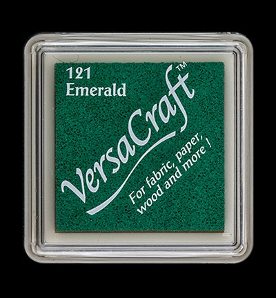 VERSACRAFT - MINI INK PAD - 121 EMERALD