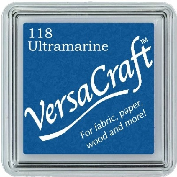VERSACRAFT - MINI INK PAD - 118 ULTRAMARINE