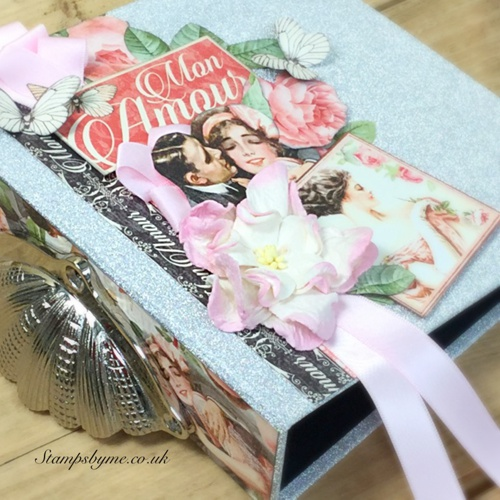 SILVER SPARKLE - mini album kit