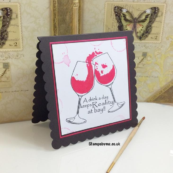 WINE FLIES stamp set