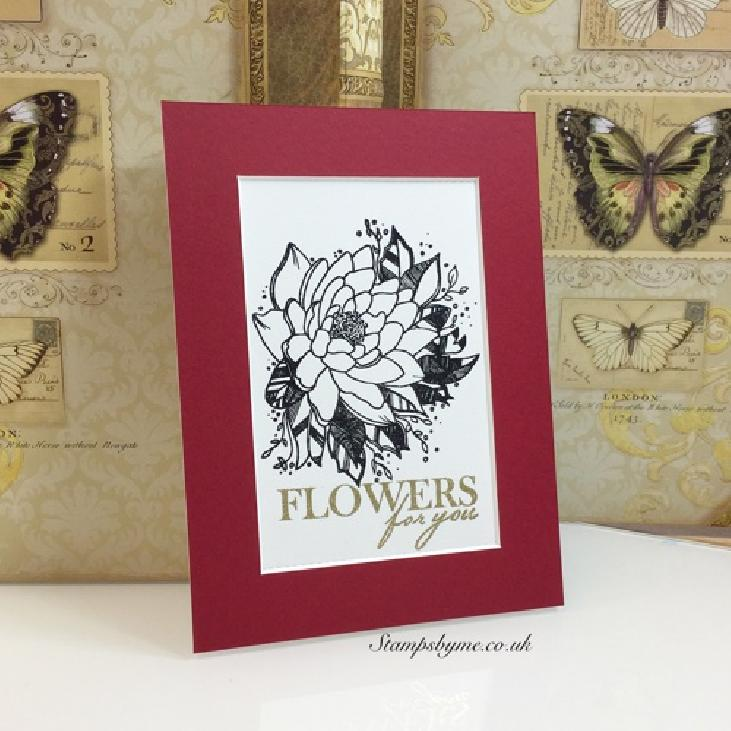 FLOWERS FOR YOU stamp set