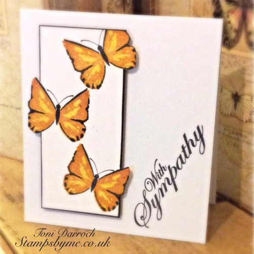 BUTTERFLY LAMINATION stamp
