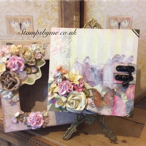 ALTERED ART BOX 8 x 8