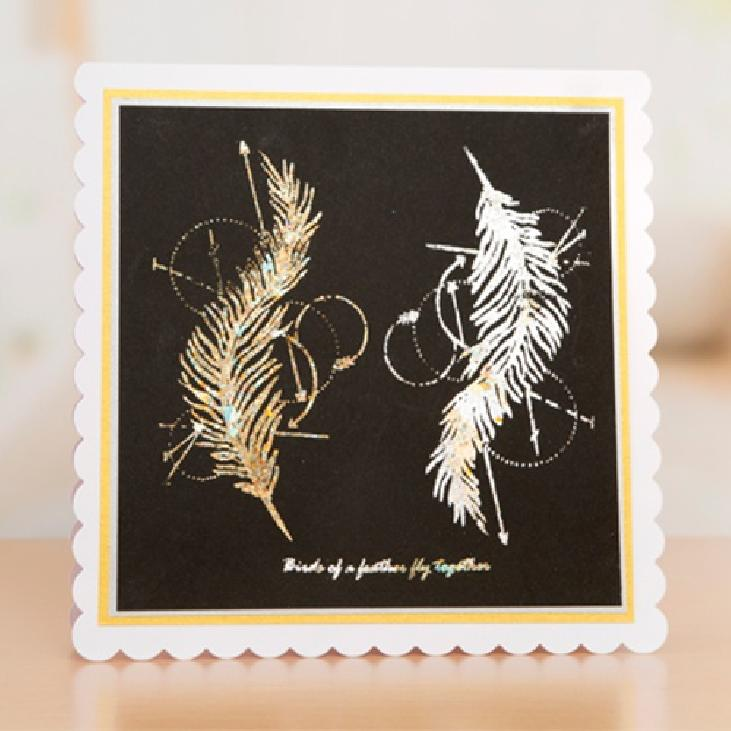 FEATHER stamp set