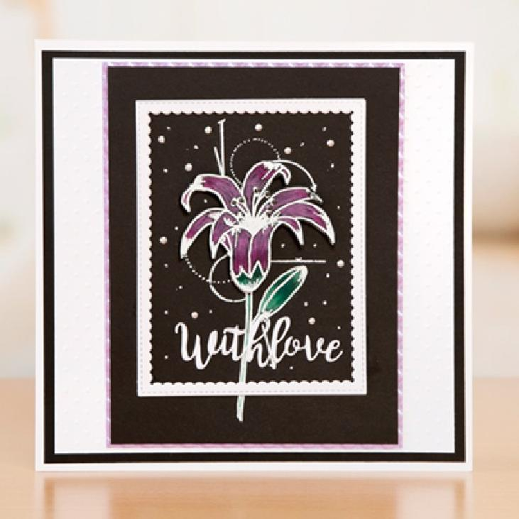 BIRTHDAY NOTE stamp set