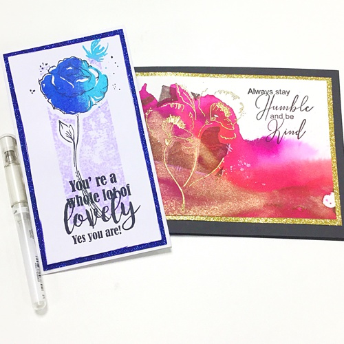 PURE POPPIES stamp set