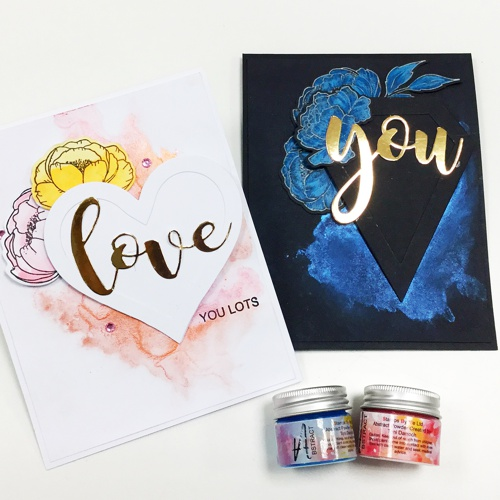 LOVE and YOU stamp sets