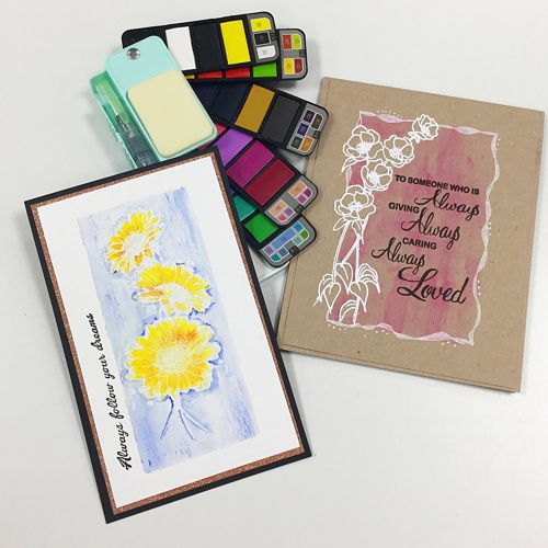 FOLLOW YOUR DREAMS stamp set