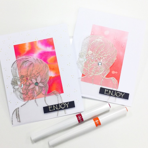 BEAUTIFUL INSIDE AND OUT stamp set
