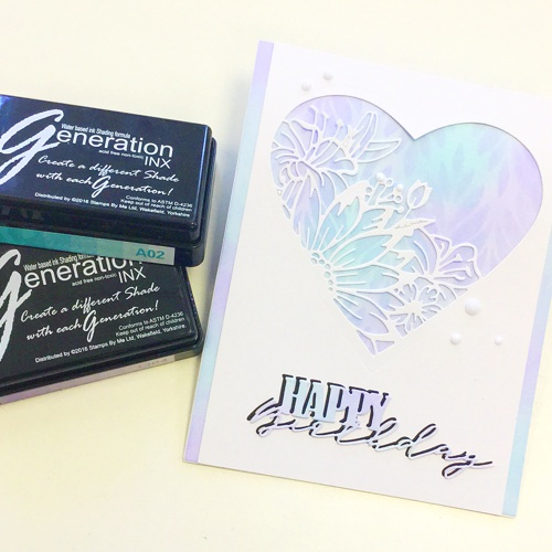 ARTISTIC HEARTS stamp collection