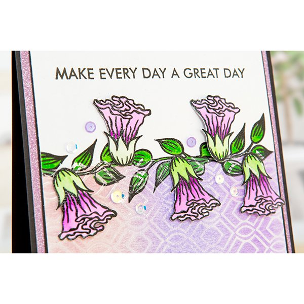 FLOWERS FOR THOUGHT stamp set