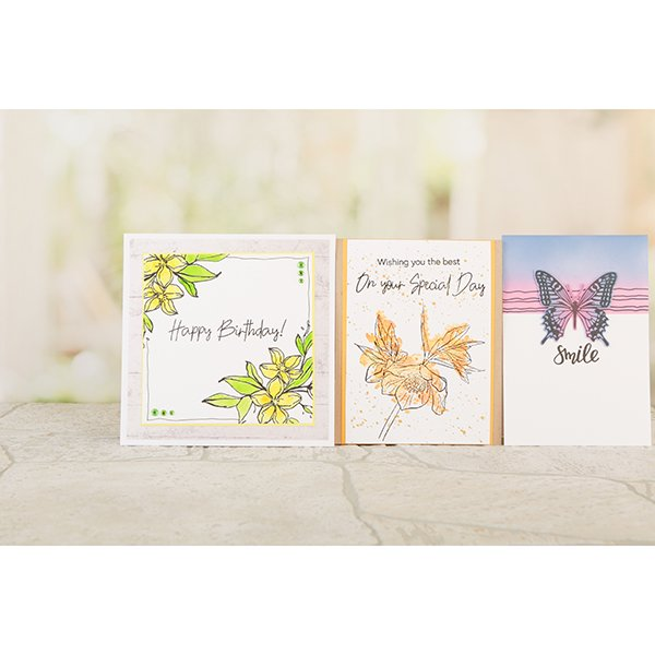 LAMINATION NEXT GENERATION - FLOWERS AND BUTTERFLIES