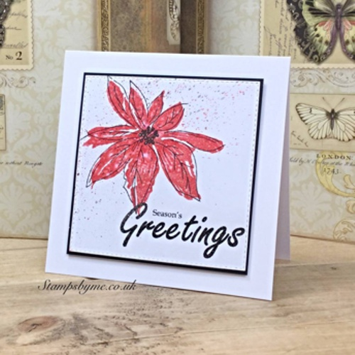 JOYFUL stamp set GREETINGS sentiment