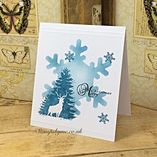 CHRISTMAS STAG stamp set