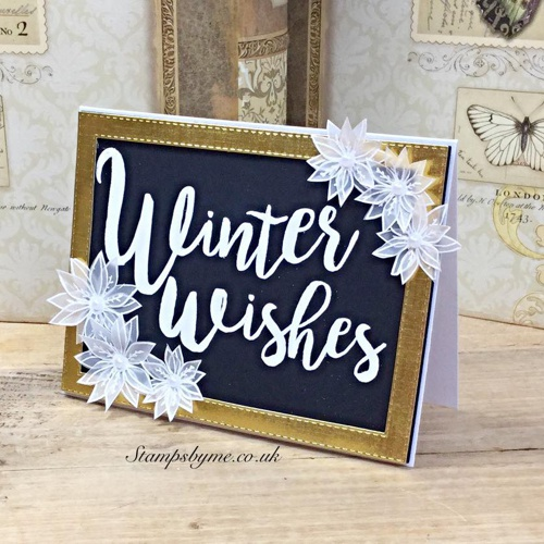 WINTER WISHES stamp