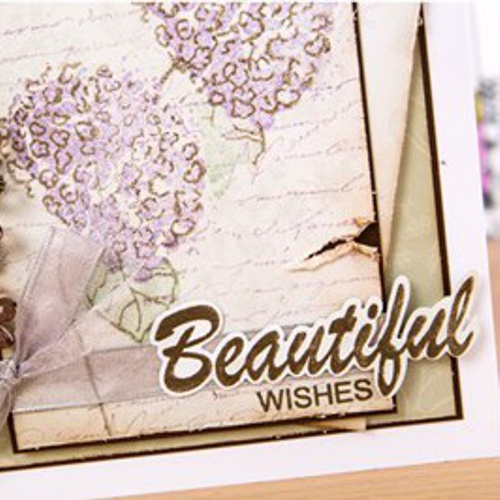 HYDRENGIA stamp set BEAUTIFUL stamp set
